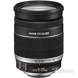 Canon EF-S 18-200mm f/3.5-5.6 IS (1ÉV) -32.000Ft