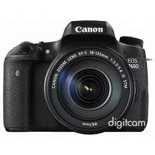 Canon EOS 760D +18-135mm IS STM -16.000Ft