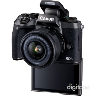 Canon EOS M5 + EF-M 15-45mm IS STM + EU26 adapter