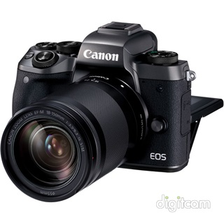 Canon EOS M5 + EF-M 18-150mm IS STM + EU26 adapter