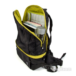 Crumpler Light Delight Foldable Backpack hátizsák (LDFBP-001) - fekete