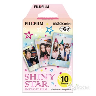 Fujifilm INSTAX Mini film Glossy (10kép) - Shiny Star