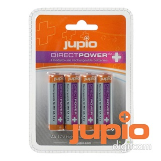 Jupio Direct Power Plus AA 2500 mAh akkumulátor 4db (JRB-AADPP)