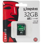 Kingston SecureDigital 32GB SDHC Video Class 10