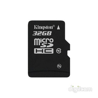 Kingston SecureDigital Micro 32GB SDHC Class 10, Single Pack