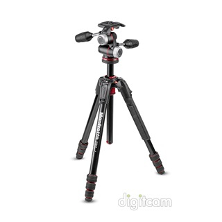 Manfrotto 190 GO! ALU 4 SEC MS KIT 3WXP (MK190GOA4-3WX)