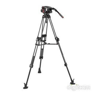 Manfrotto 509 Video fej + 645 Fast Alu állvány (MVK509TWINFA)