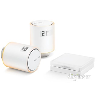 NETATMO Thermostatic Valves SET (2ÉV) Intelligens Radiátor szelep szett