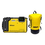 Nikon Coolpix W300 Holiday Kit Sárga