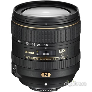 Nikon Nikkor 16-80mm f/2.8-4 E ED VR -30.000Ft