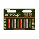 Panasonic AA Eneloop Expedition 1900mAh akku, 8db