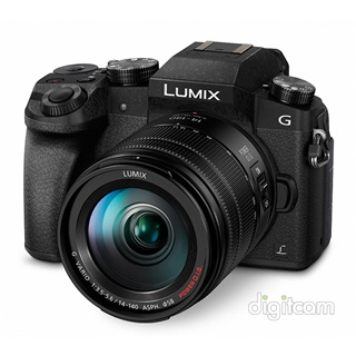 Panasonic Lumix DMC-G7HEG-K -24.000Ft (2ÉV) + 14-140mm ASPH - fekete