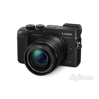 Panasonic Lumix DMC-GX8MEG-K (2ÉV) + 12-60mm Power O.I.S. - fekete