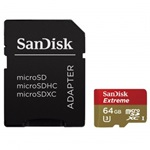 SanDisk microSDXC 64GB Mobile Extreme 90MB/s Class 10 UHS-1 U3 + adapter + Rescue Pro Deluxe