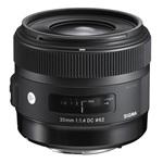 Sigma 30mm (3ÉV) f/1.4 (A) DC HSM - Canon