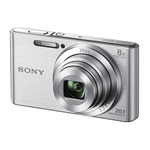 Sony Cyber-Shot DSC-W830S+16GB+tok kit - ezüst