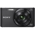 Sony Cyber-Shot DSC-W830B+8GB+tok kit - fekete
