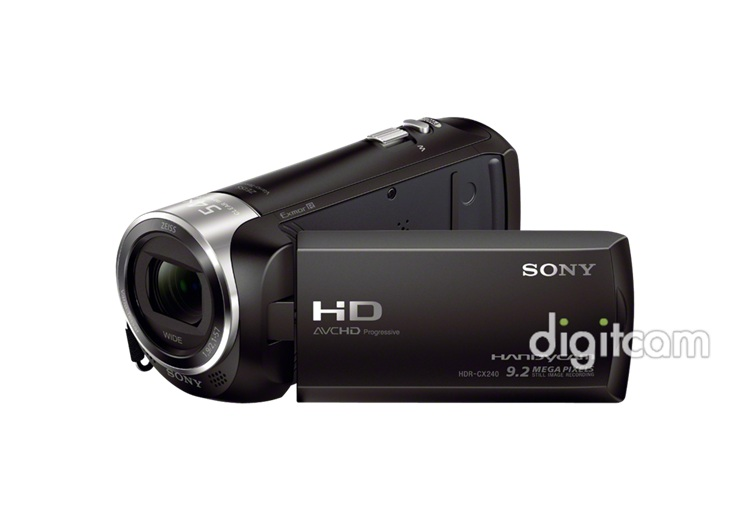 sony hdr cx240e full hd mem riak rty s videokamera inform ci k v s rl s digitcam. Black Bedroom Furniture Sets. Home Design Ideas