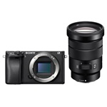 Sony ILCE-6300GB + 18-105mm fekete