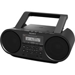 Sony ZS-RS60BT CD Boombox Bluetooth funkcióval, fekete