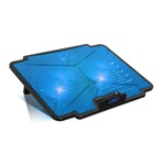 "Spirit of Gamer Notebook Hűtőpad 15,6""-ig - AIRBLADE 100 BLUE (2x12cm, LED, 2xUSB2.0)"
