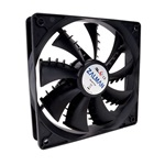 Zalman ventillátor 80mm CASE FAN ZM-F1 Plus (SF)